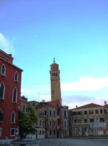 老人とブログの海-ベネチアの町並み