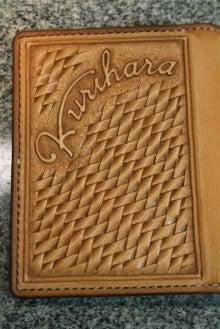 $Kawamura Fine Leather Arts & Crafts Diary-狩猟ライセンスケース