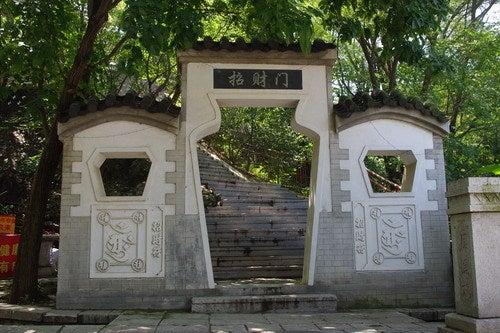 中国大連生活・観光旅行通信**-大連 大黒山 響水寺