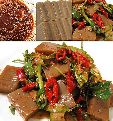 キムチ王子の美味しい韓国!韓国料理のムック(묵)を知っていますか?