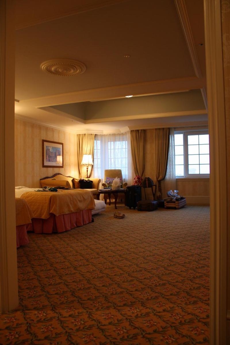 ディズニーランドホテル コンシェルジュファミリールーム | kodomo tabi