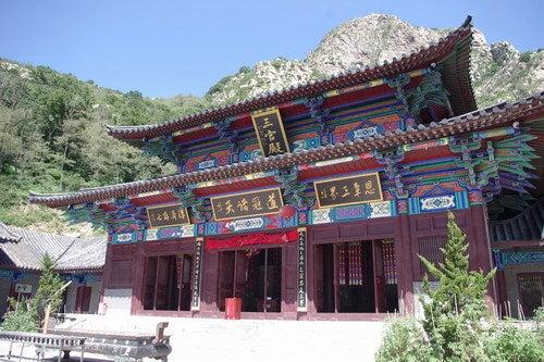 中国大連生活・観光旅行通信**-大連 大黒山 唐王殿