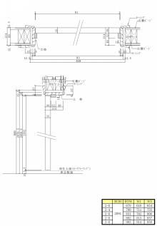 輸入建材通販(玄関・内部木製ドア・輸入窓ベルックス・フローリング・ファイポン)DIYリフォーム激安アウトレット輸入建材通販ショップ-2x4用内部ドア枠施工図