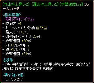 RELI姫のおてんば(?)日記-フォムガ