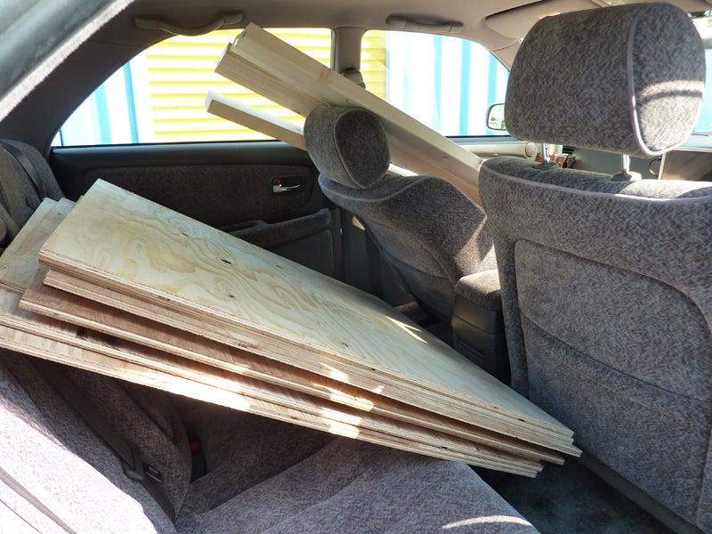 道との遭遇 ~めざせ日本一周!キャンプツーリング一人旅~-木材