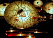 白鳥座-和傘オブジェ