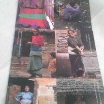 3・豊かな布の色とり…