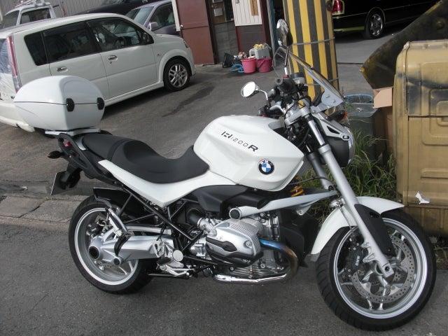 女職人が書く京都の板金屋さんのブログ☆★-BMW オートバイ