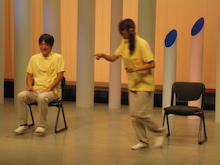 医療法人 畏敬会のブログ-ダンス風景です。