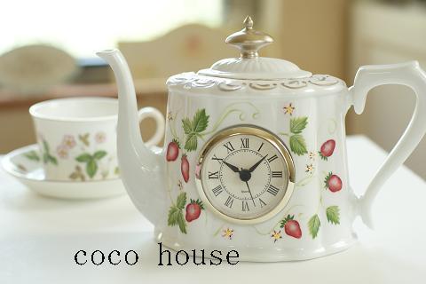 イチゴの時計