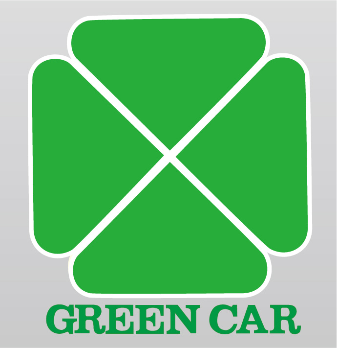 ヘッドマーク博物館 -グリーン車のサイン