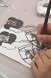 美しすぎる切り絵教室 切り絵作家横山路漫のブログ