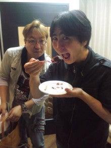 軽茶しんどろ~むのブログ-ケーキ食す1