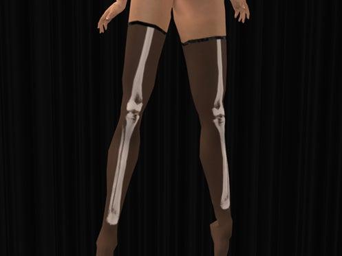 Maya's style / Second Life Fashion-X-ray ストッキングペールカラー