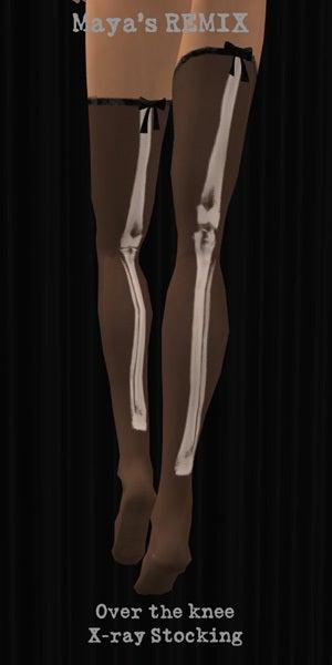 Maya's style / Second Life Fashion-X-ray ストッキング