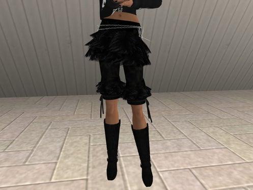 Maya's style / Second Life Fashion-スカート&レギンス着用例