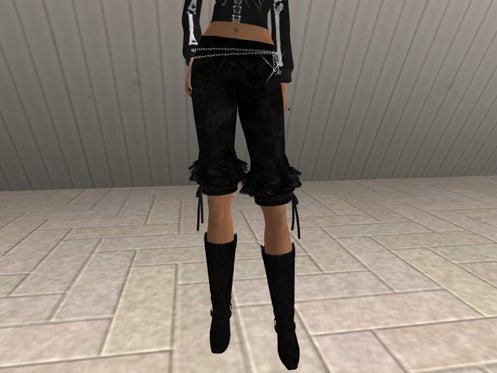Maya's style / Second Life Fashion-レギンス着用例