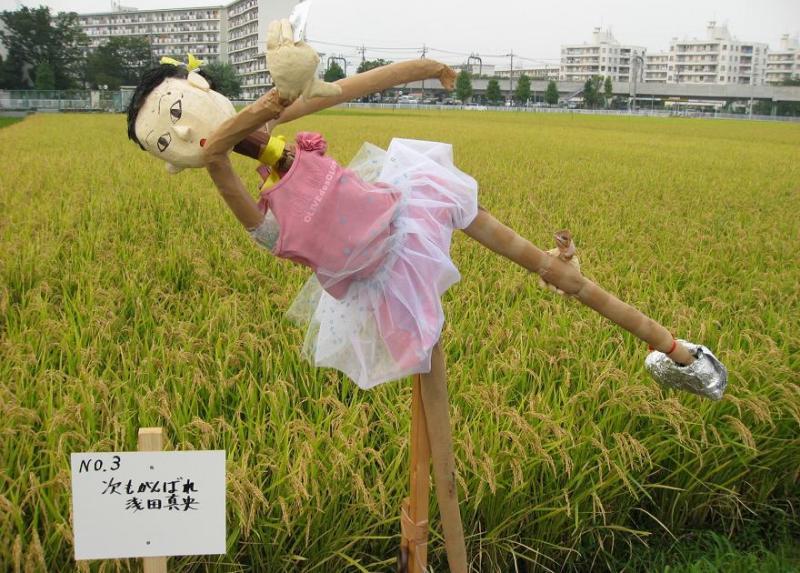 海老名かかし祭り2010 浅田真央