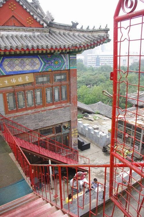 中国大連生活・観光旅行通信**-大連 中山公園 華宮