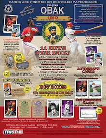 nsh69のMLBトレーディングカード開封結果と野球観戦報告-2010obak