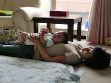 ベビー&キッズマッサージ 赤ちゃんヨガ教室           『ONIGIRI』  Mon2Ange奈良・橿原教室