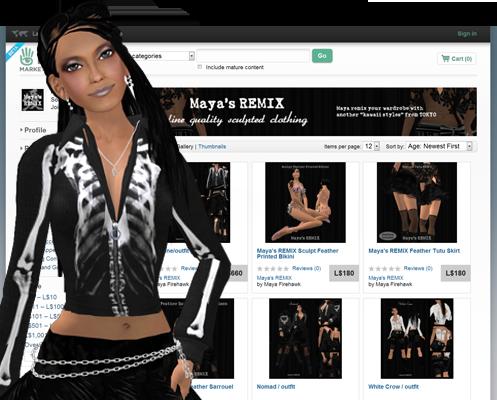Maya's style / Second Life Fashion-SL マーケットプレイス 2