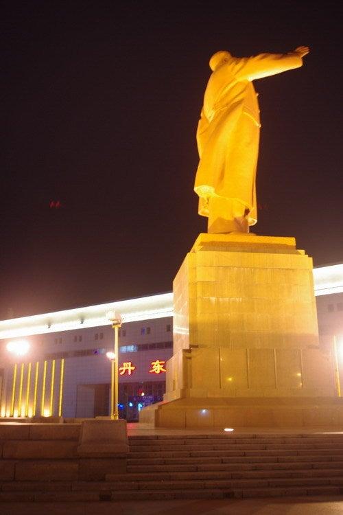 中国大連生活・観光旅行通信**-丹東駅