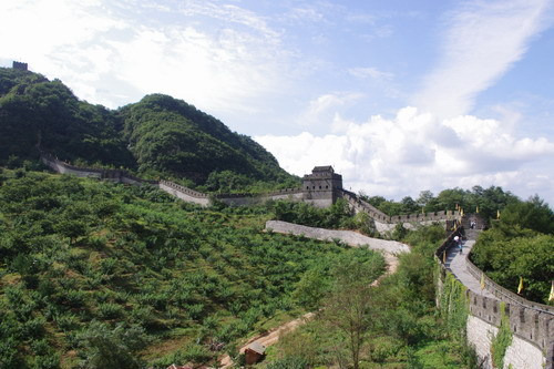 中国大連生活・観光旅行通信**-丹東 万里の長城