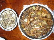 歩き人ふみの徒歩世界旅行 日本・台湾編-鶏づくしの夕食