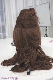 コスプレ ベル 髪型