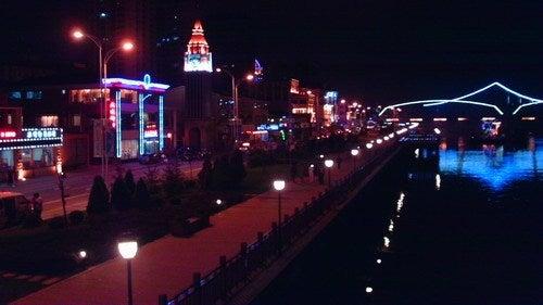 中国大連生活・観光旅行通信**-丹東 鴨緑江