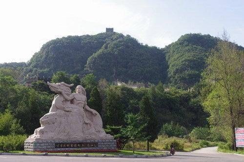 中国大連生活・観光旅行通信**-丹東 万里の長城 「虎山長城」