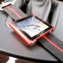 iPodが腕時計に!…