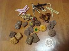 大阪市内 ソフト粘土・ろうの花・アロマ・カラーなどのお教室「趣味のアトリエろころん」のブログ  堺からも通えます-樹脂粘土のクッキー&ポッキー&キャラメル