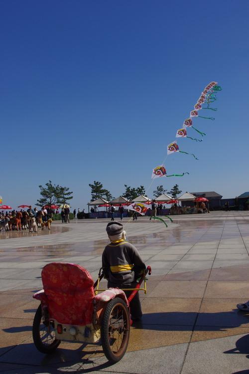 中国大連生活・観光旅行通信**-大連 老虎灘