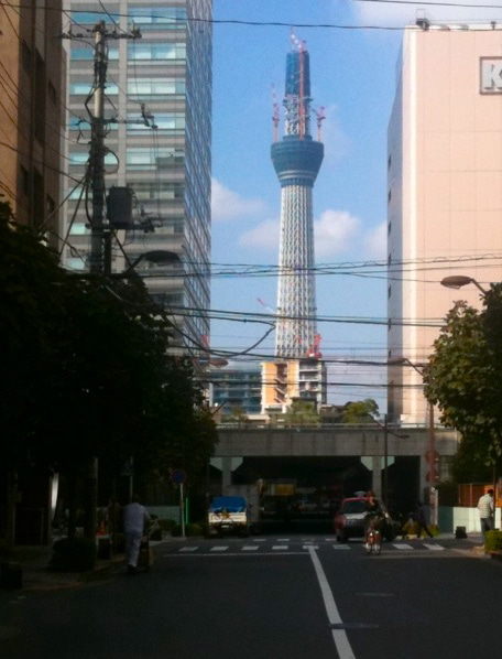 $∞最前線 通信-新東京タワー