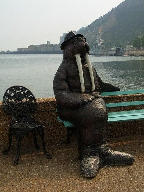 中国大連生活・観光旅行通信**-老虎灘 ジュラ紀激流探検