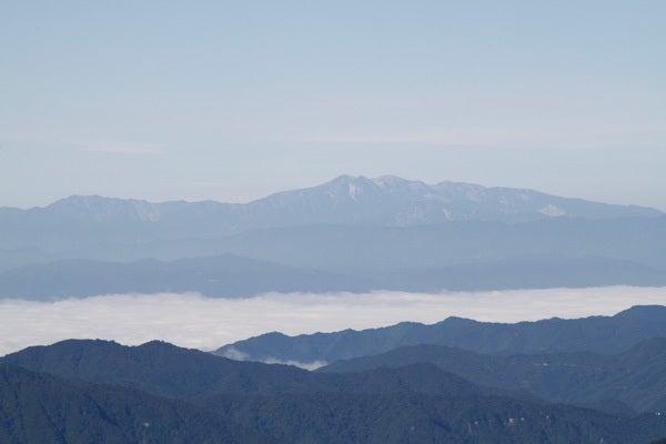 $cheltenhamのブログ-新穂高から見る白山