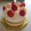 * ホールケーキなんて何十年ぶりでしょう・・・。。の画像