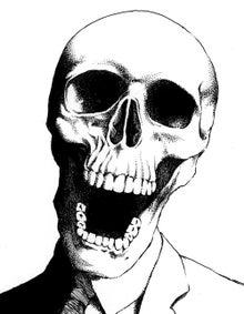 スカルヘッドさん頭蓋骨骸骨系イラストですな らむだす