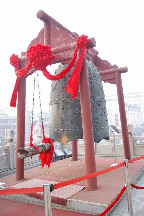 中国大連生活・観光旅行通信**-西安 鐘楼