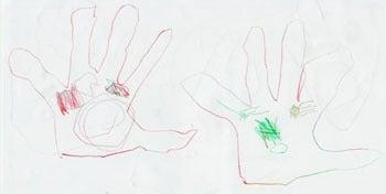 子供の絵を永遠の想い出として残しませんか?イラストレーターのりゃん(良)的日々-大阪府T.Mさま原本3-3