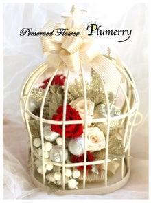 Plumerry(プルメリー)プリザーブドフラワースクール (千葉・浦安校)-ミラーバードケージ プリザーブドフラワー