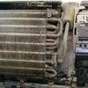 ケーキ屋さんのエアコン内部洗浄の画像