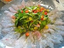 $NONNON cooking salon 高橋典子のブログ-カルパッチョ