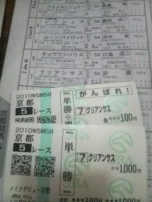 デビュー最短! 204日で古馬GI制覇♪-2010102311010000.jpg