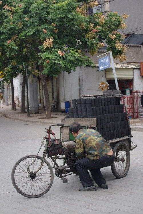 中国大連生活・観光旅行通信**-西安 城壁