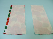 ヒロアミーの日記-折り伏せ縫い