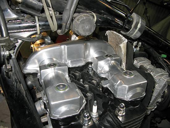 レオピン十兵衛のXJR1200ブログ-xjr エンジンヘッド15
