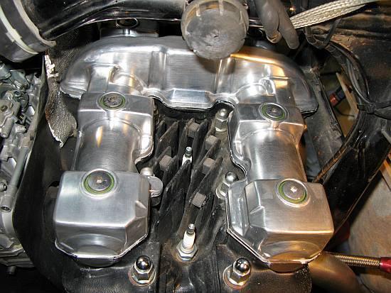 レオピン十兵衛のXJR1200ブログ-xjr エンジンヘッド16